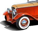 1932 Ford Cabriolet project Concept art