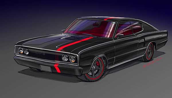 Custom Car Designs Car Concepts By Bruce Kaiser