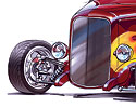 '32 Ford Highboy Roadster Concept art