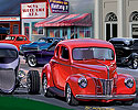 Heidt's Street Rod Shop, 1940 Ford Coupe, 33 Ford hot rod