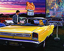 Plymouth GTX convertible, 1932 Ford 3 window coupe, Monster Movie, Double Date, Movie Theater