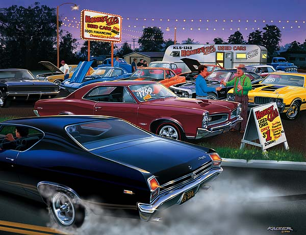 Muscle Car Limited Edition Art Prints By Bruce Kaiser Muscle Car