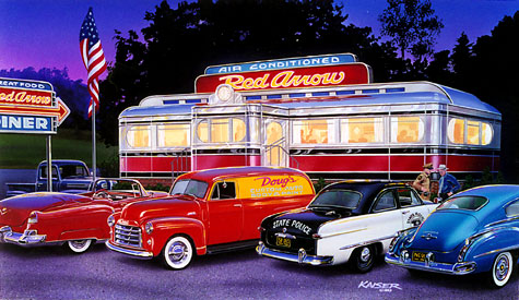 Page 2 likewise 230925206686 likewise Watch together with Red Arrow Diner Detail in addition 1931 Ford Truck. on 1950s chevy ads
